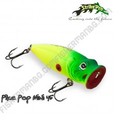 Воблер SH-002B Pike Pop Mini 4.5см 4г Strike Pro
